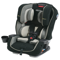 Graco Milestone 3-in-1 Convertible Car Seat featuring Safety Surround, Cyrus
