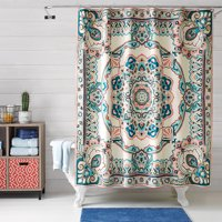 Better Homes and Gardens Scarf Medallion Shower Curtain