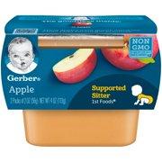 Gerber 1st Foods Apple Baby Food, 2-2 oz. Tubs