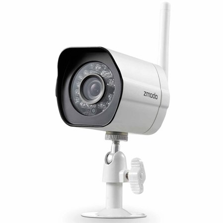 Zmodo 720p HD Outdoor Home Wireless Security Surveillance Video Camera System (1 Pack), Work with Google Assistant - Walmart.com