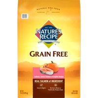 Nature's Recipe Grain Free Easy to Digest Salmon, Sweet Potato & Pumpkin Recipe, 24-Pound