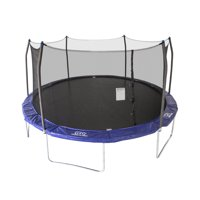 Skywalker Trampolines Oval 16-Foot Trampoline, with Enclosure, Blue