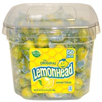 Lemonhead, Lemon Candy, 150 Count, 40.5oz