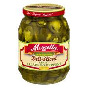 (6 Pack) Mezzetta Deli-Sliced Tamed Jalapeño Peppers, 32 Oz