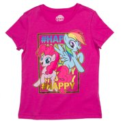 My Little Pony Ap Lic Mlp Happy Ss Tee