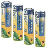 Vtech Kidizoom Camera Digital Camera Battery Replacement for 4 AA NiMH 2800mAh Rechargeable Batteries