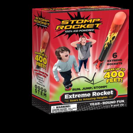 Stomp rocket extreme rocket, 6 rockets