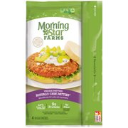 Morning Star Farms Buffalo Chik Patties Veggie Patties, 4 ct, 10 oz