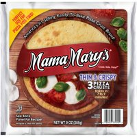 (2 Pack) Mama Mary's™ Thin & Crispy Pizza Crusts 3 ct Pack