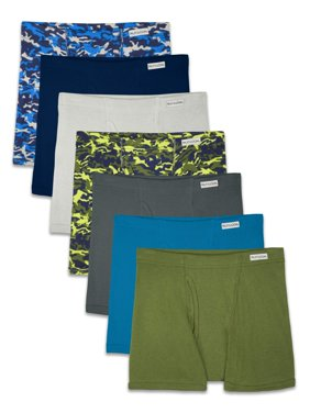 Covered Waistband Boxer Briefs, 7 Pack (Little Boys & Big Boys)