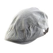 3ac121035ace2 Unique BargainsMen Women Vintage Style Newsboy Duckbill Ivy Cap Driving Beret  Hat Light Gray