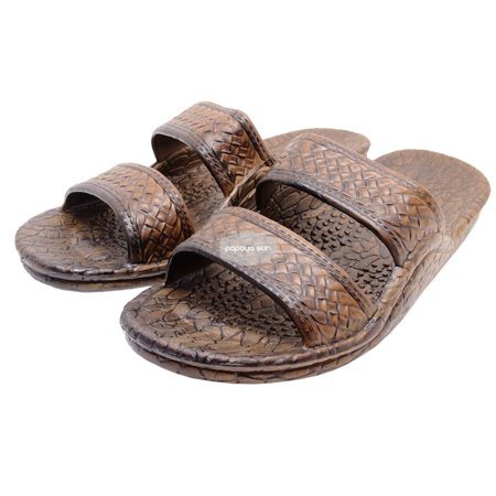 Pali Hawaii Dark Brown Jesus Hawaiian Sandals Jandals