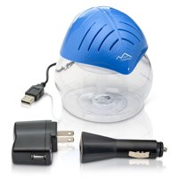 Blue Mini Desktop Water Based Air Purifier Humidifier Aroma Therapy by New Comfort