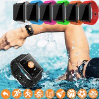 Smart Watch, Activity & Fitness Tracker Smart Wristband Bracelet with Sleep Monitor 1.3'' Screen Sport Pedometer fitness Watch Step Tracker/Calorie Counter Smartwatch for Android and ios