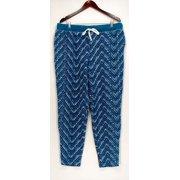 4d81aed723ad50 Cuddl Duds Lounge Pants, Sleep Shorts L Fleecewear Stretch Novelty Blue  A297368