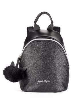 Kendall + Kylie for Walmart Black Glitter Mini Backpack