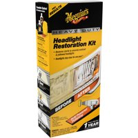 Meguiar's G2980 Heavy Duty Headlight Restoration Kit