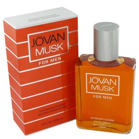 Jovani Homecoming - Jovan Musk After Shave Cologne Spray for Men, 8 fl oz