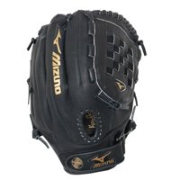 "Mizuno 12"" Baseball Glove, Right Hand Throw, Black"