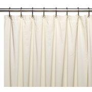 Royal Bath Extra Wide 5 Gauge Vinyl Shower Curtain Liner With Metal Grommets In Bone