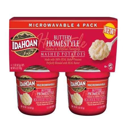 Idahoan Foods Idahoan Buttery Homestyle Potato 4pk Cup