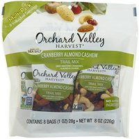 Orchard Valley, Orchard Valley Cranberry, Almond, Cashew Harvest Trail Mix , 8 OZ (Pack of 8)