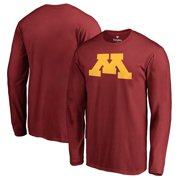 new styles 63c23 f885a Minnesota Golden Gophers Fanatics Branded Primary Team Logo Long Sleeve  T-Shirt - Maroon