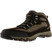Hi-Tec Men's Skamania Waterproof Chocolate / Dark Taupe Orange Ankle-High Hiking Boot - 8.5M