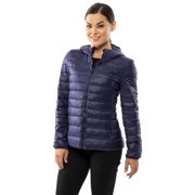 5531a1f9504a Alpine Swiss Womens Hooded Down Jacket Puffer Bubble Coat Packable Light  Parka