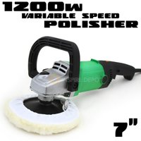 """7"""" 110V 6 -Speed Electric Car Boat Paint Polisher Buffer Sander with Pad"""
