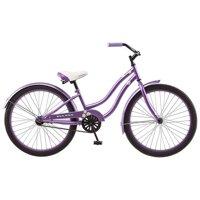 Kulana R3025 24 in. Kulana Girls Hiku Cruiser Bicycle, Purple