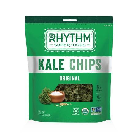 Rhythm Superfoods Kale Chips, Original, 2 Oz