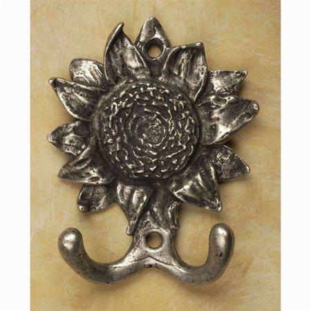 Rust Sunflower (Sunflower hook hook (Antique Bronze))