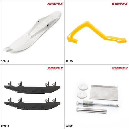 Kimpex - Ski Stealth Kit - White, Ski-Doo Freestyle 300F 2006-08 White / Yellow  #KK00001933_93