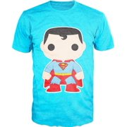 3aca5b3d924b47 Funko Superman DC Comics Adult Superhero T-Shirt Tee