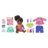 Baby Alive Potty Dance Exclusive Value Pack (Black Curly Hair)