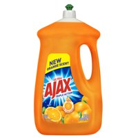 Ajax Ultra Triple Action Liquid Dish Soap, Orange - 90 fl oz