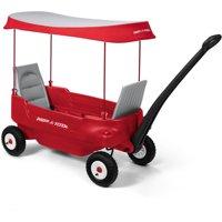 Radio Flyer, Deluxe All-Terrain Pathfinder Wagon w/ Canopy