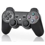 Wireless Bluetooth DualShock 3 Controller for Playstation 3 - Black