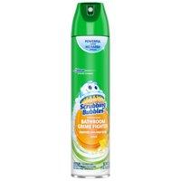 Scrubbing Bubbles Bathroom Grime Fighter Aerosol, Citrus, 25 oz