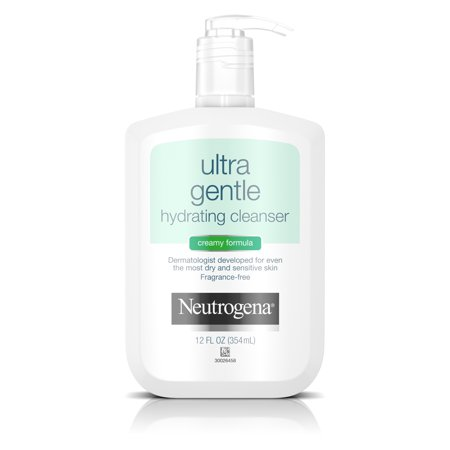 Neutrogena Ultra Gentle Hydrating Creamy Facial Cleanser, 12 fl. (Step Gentle Cleanser)