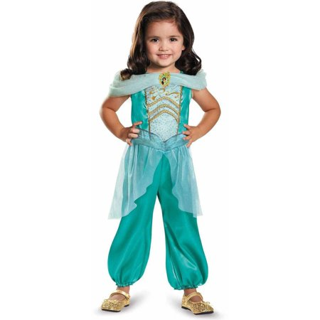 Disney Princess Jasmine Classic Toddler Halloween Costume](Adult Princess Tiana Costume)