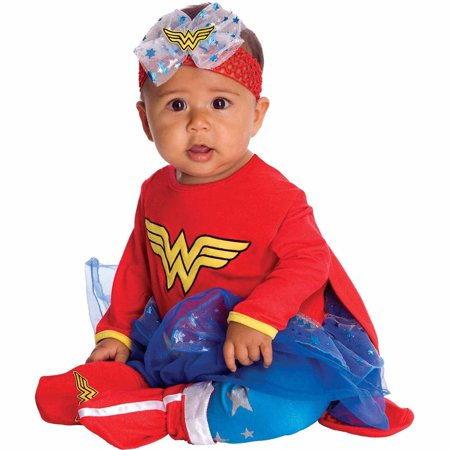 Wonder Woman Onesie Infant Halloween Costume - Discount Infant Halloween Costumes