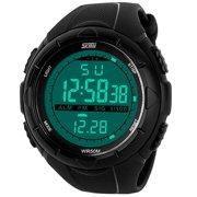 f4a893cf266 LinTimes Men`s Big Case Waterproof Multifunctional Military Sport Wrist  Watch Digital LED Sport Watch. Product Variants Selector. Price