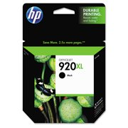 HP 920XL High Yield Black Original Ink Cartridge (CD975AN)