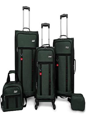 Utility 5 Piece Spinner Luggage Set