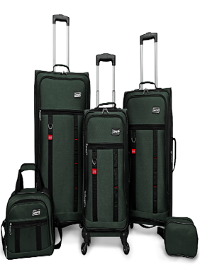 Utility 5 Piece Spinner Luggage Set