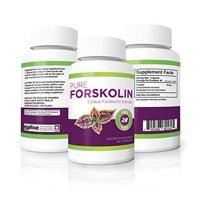 100% Pure Forskolin Diet Pills - Maximum Strength Fat Burner & Muscle Builder