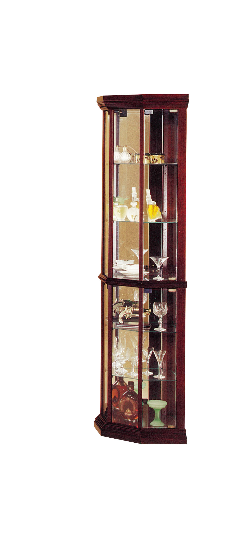 Curio Cabinets With Glass Doors