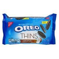 (3 Pack) Oreo Thins Coconut Crème, 10.1 oz